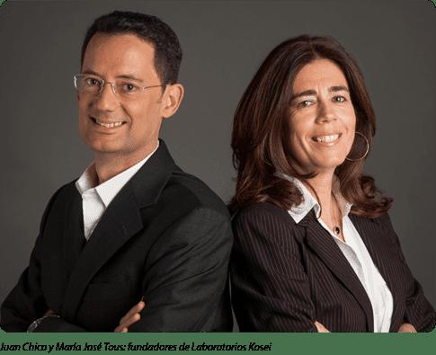 Juan Chico y María José Tous