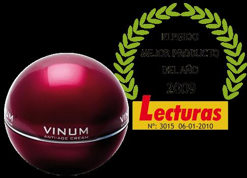 Kosei Vinum Crema antiedad - Producto del año
