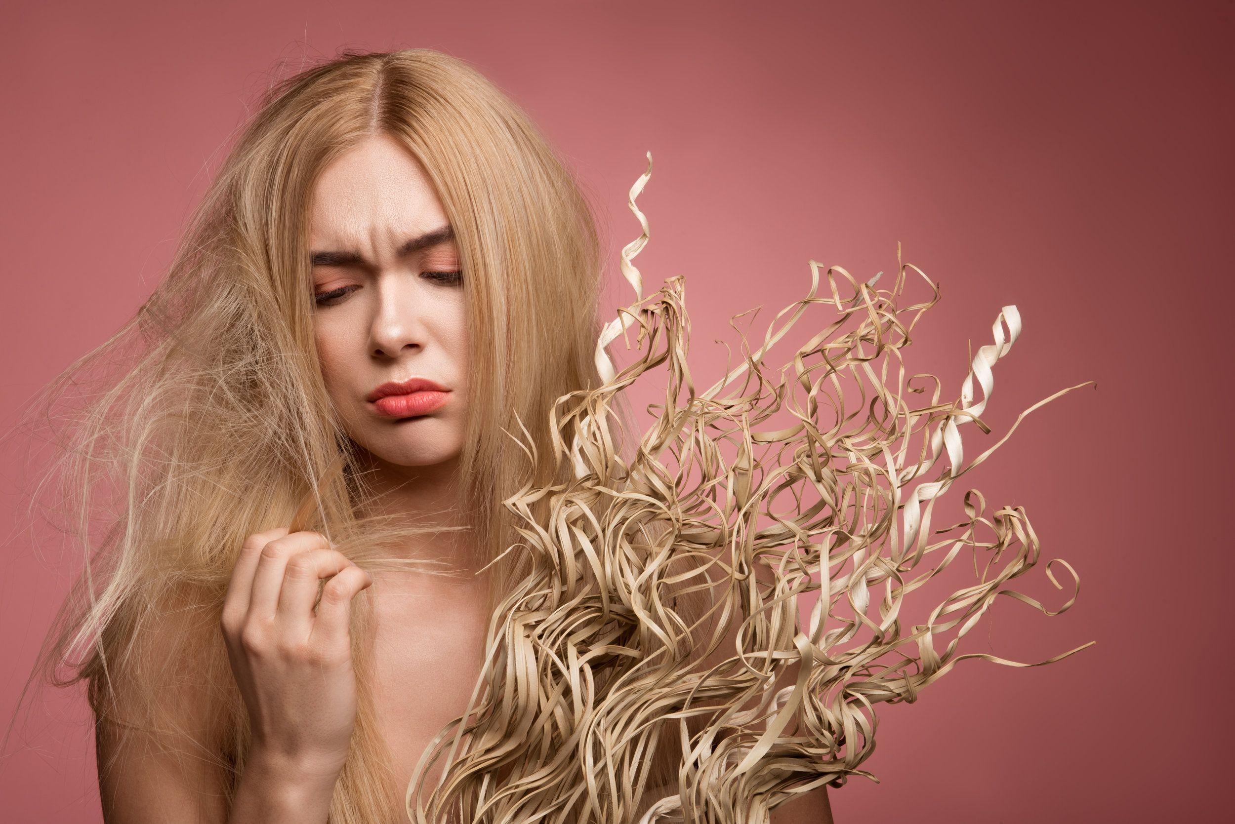 sos mi cabello esta super seco