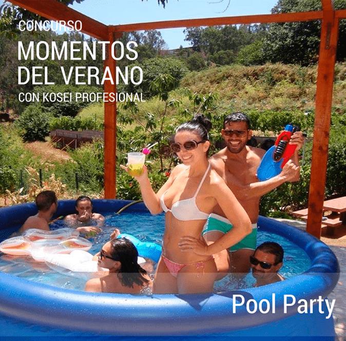 MOMENTOS DEL VERANO: Pool Party