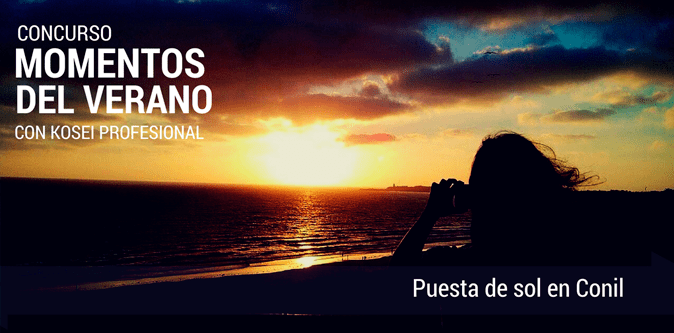 MOMENTOS DEL VERANO: Puesta de sol en Conil