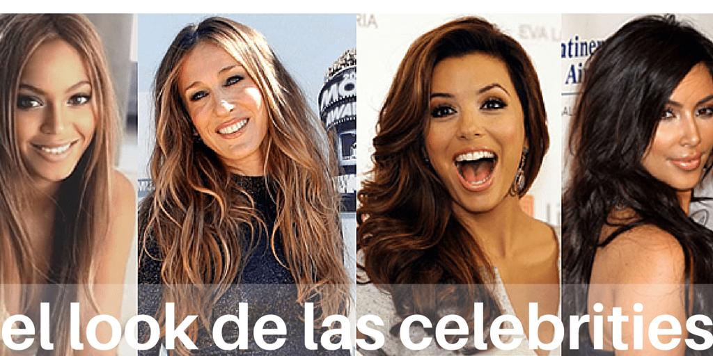 Extensiones de pelo virgen natural, el look de las celebrities