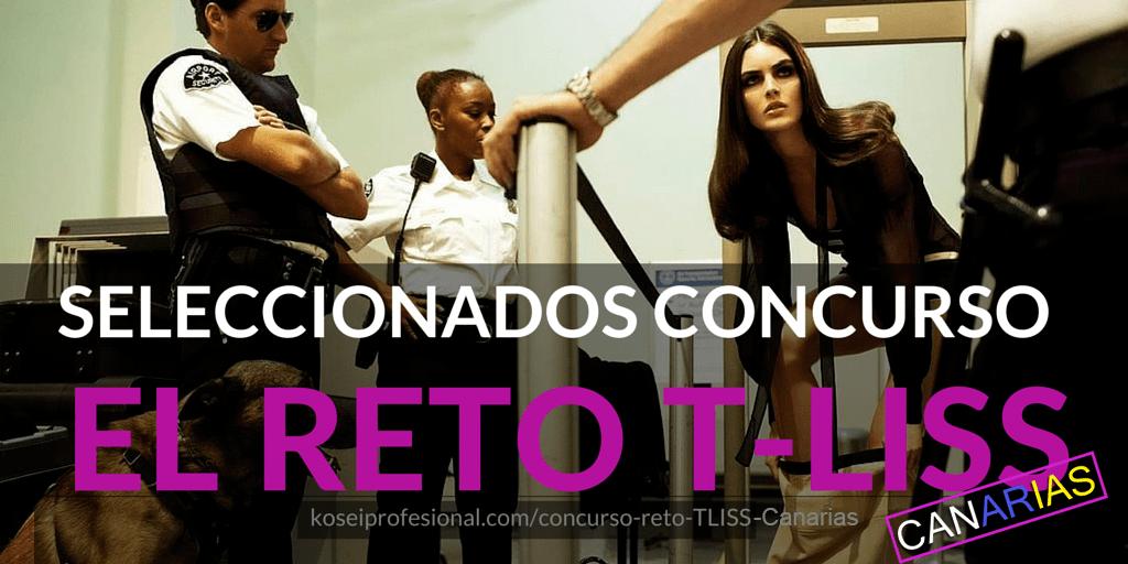 seleccionados reto TLISS Canarias