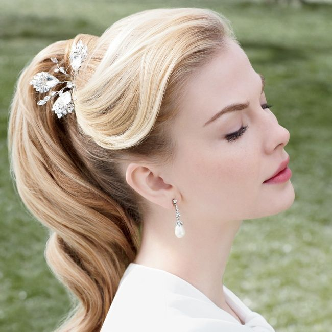 peinados para bodas coleta