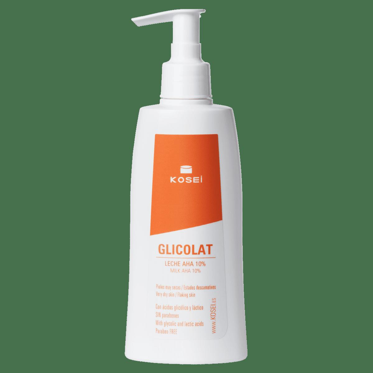 GLICOLAT Leche AHA 10%. Crema hidratante piel seca