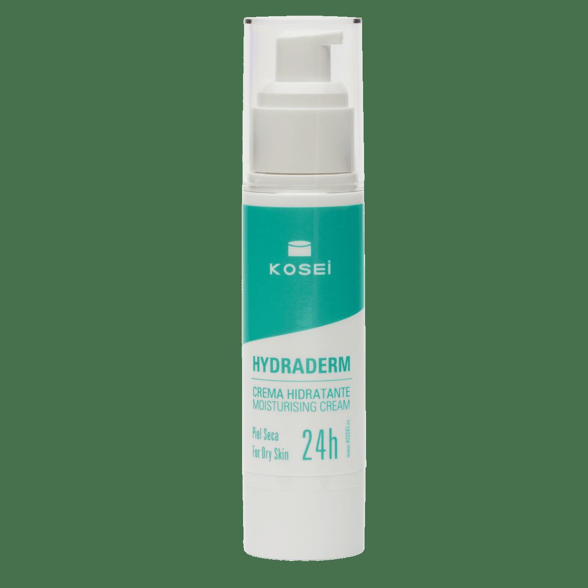 HYDRADERM crema hidratante para piel seca 24 horas