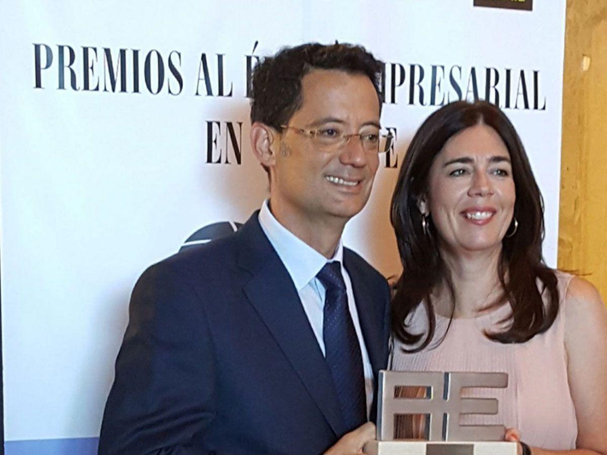 kosei-premio-mejor-empresa-canarias-Juan-Chico-Maria-José-Tous