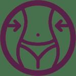 reafirmante corporal icono