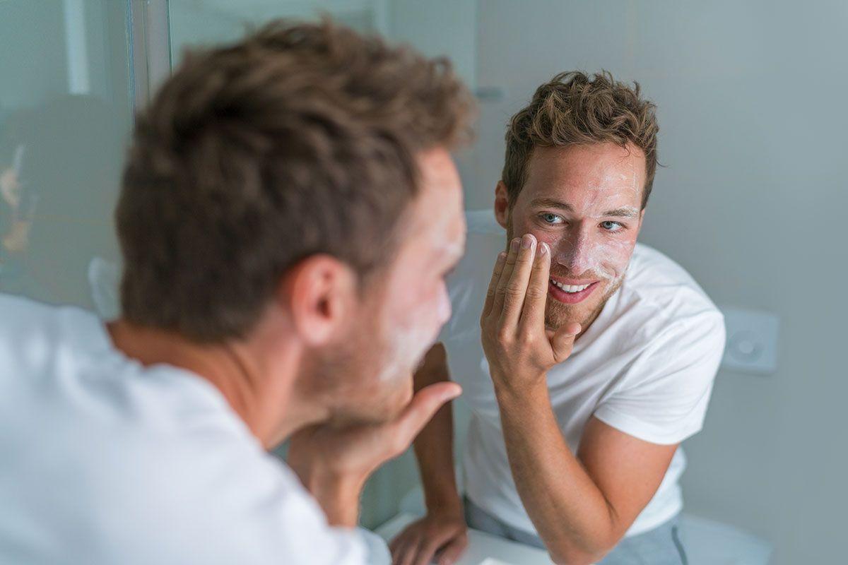 Cremas faciales para hombres