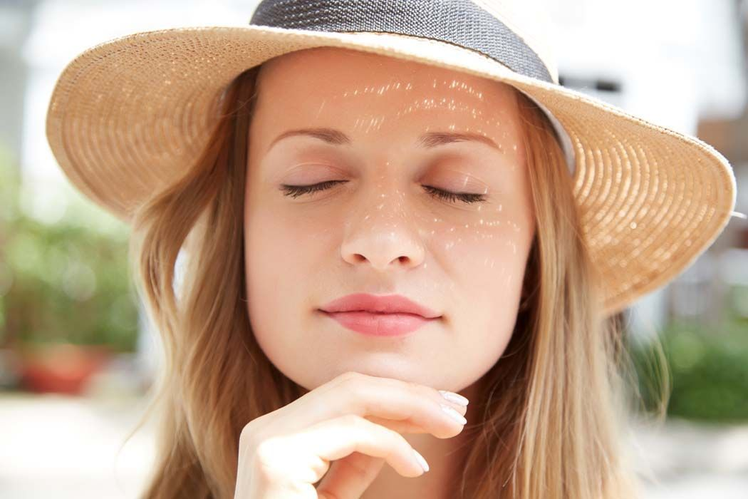 Proteger tu cara frente al sol