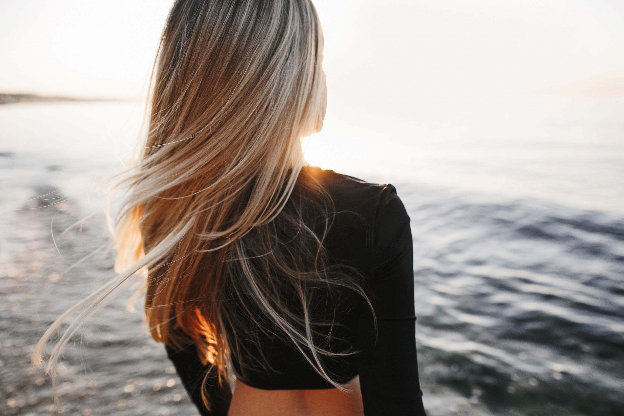 Daños en el pelo por culpa del sol